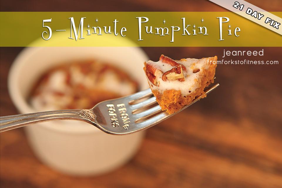 21 Day Fix: 5-Minute Pumpkin Pie