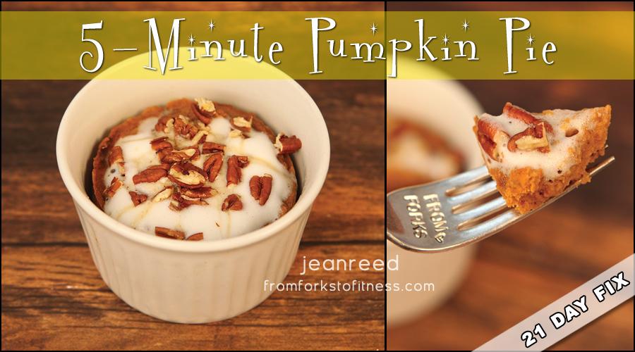21 Day Fix Pumpkin Pie