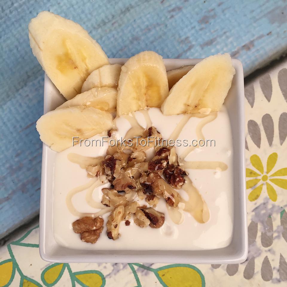 21 Day Fix:  Yogurt Banana Parfait